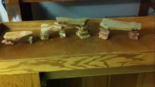 DIY Aquarium Decoration Slate Cave! Contest?   YouTube