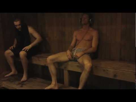 nudist family sauna