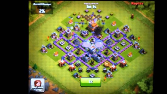 Clash of Clans Town Hall Level 7 Farming Defense Layout - YouTube