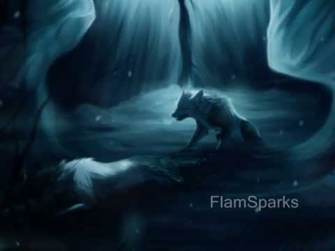 Free Animated Falling Snow Wallpaper Anime Wolves Falling Inside The Black Youtube