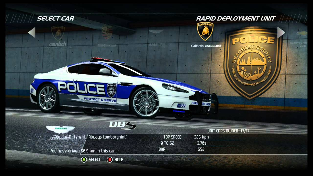Exotic Cars Wallpaper Pack Nfs Hot Pursuit All Police Cars Including Dlc Youtube