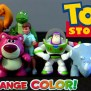 Color Changers Shifters Toy Story 3 Splash Buddies