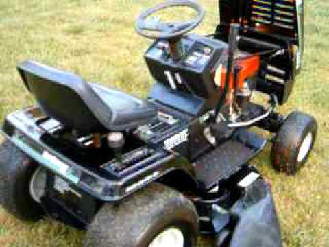 11 Hp Briggs And Stratton Wiring Diagram Mtd Yard Machines Riding Mower Youtube