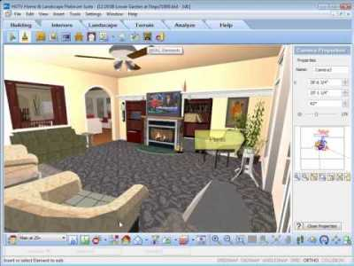HGTV Home Design Software - Inserting Interior Objects ...