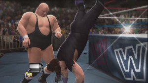 WWE 2K14 Undertaker's Outside Dive OMG Moment Countered - YouTube