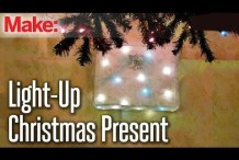 DIY Hacks & How To's: Light Up Christmas Present