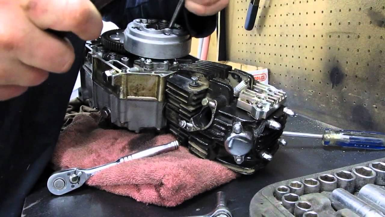 110cc Engine Wiring Diagram Electric Motorcycle 110cc Pit Bike Engine Teardown Pt1 Youtube