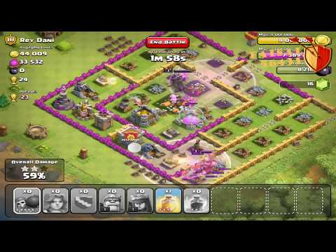 clash of clans girl
