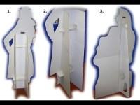 How To Cardboard Cutout DIY - Dr. N00Bz Lab Ep1 - YouTube