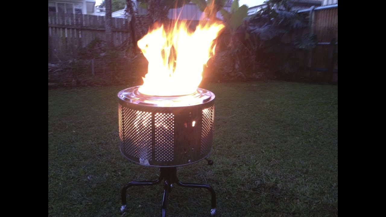 Making A Fire Pit From Washing Machine Drum Anyone Made