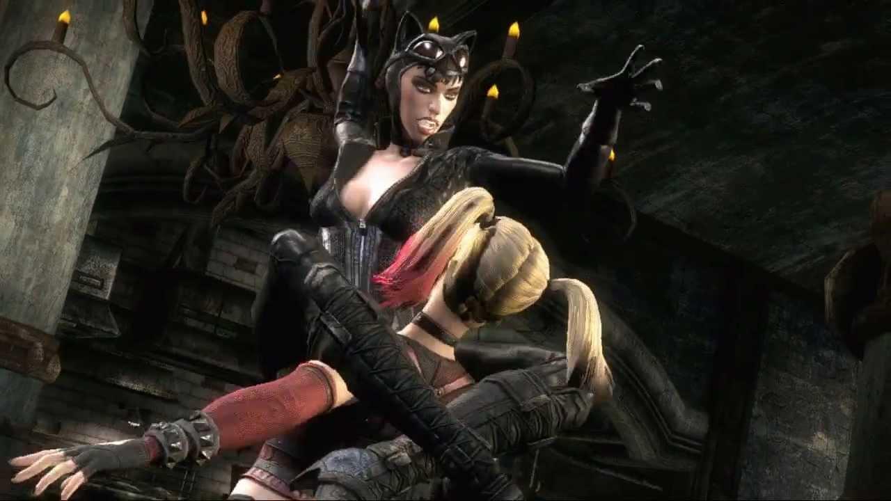 Ravens Wallpaper Iphone 6 Injustice Gods Among Us Arkham Catwoman Vs Arkham