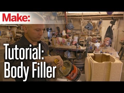 Building up to Maker Faire: Body Filler Tutorial with Shawn Thorsson