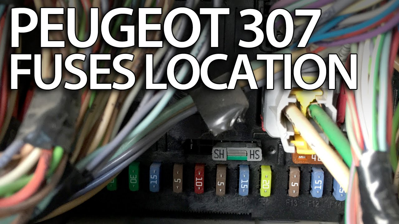 2006 Pt Cruiser Starter Wiring Diagram Where Are Fuses Relays And Obd Port In Peugeot 307 Fuse