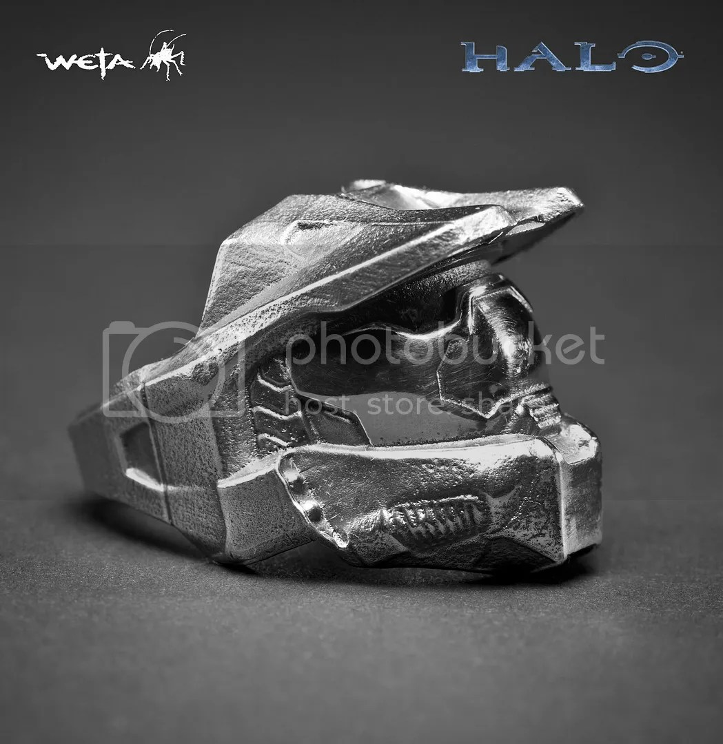 a halo ring for your finger badass wedding rings master chief ring