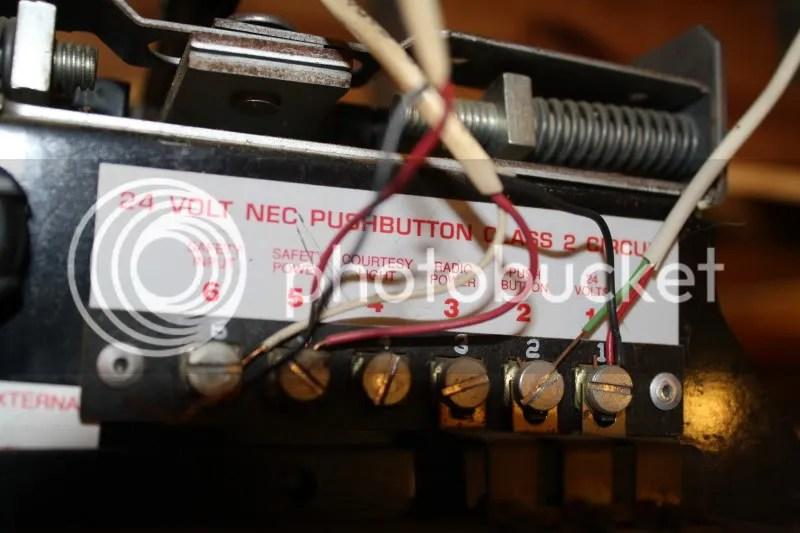 Genie Garage Door Safety Sensor Wiring Diagram Wiring Schematic