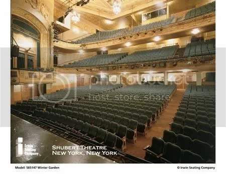 where are the poles/seat obstructions in the Shubert Theatre balcony