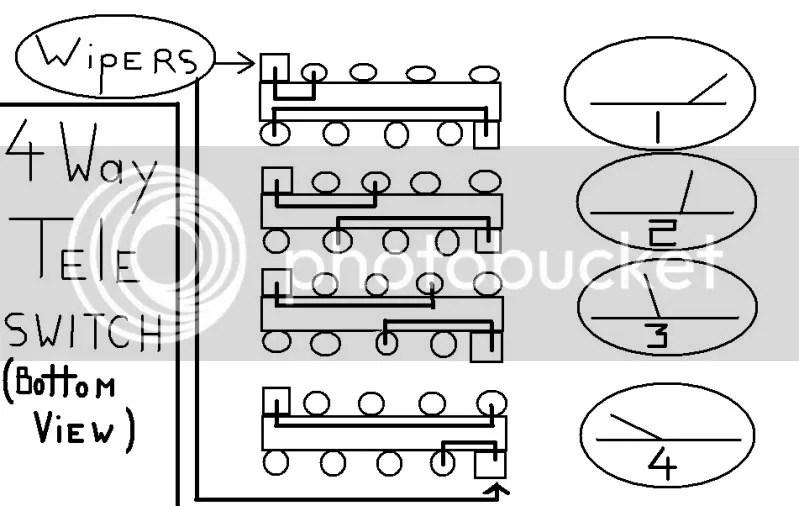 fender 4 way switch wiring diagram wiring diagram fender tele way