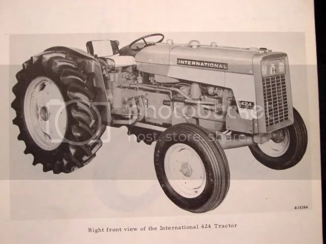 1965 IH FARMALL 424 2424 TRACTOR PARTS MANUAL CATALOG on PopScreen