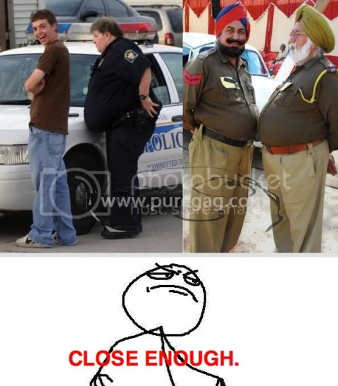 close enough - Police