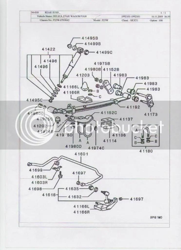 mitsubishi delica 96 wiring diagram
