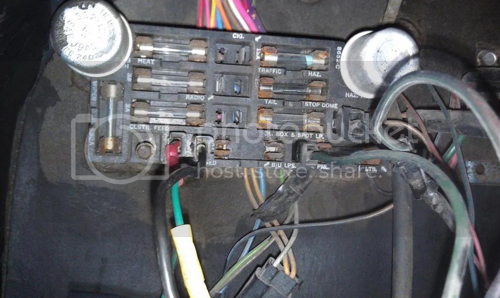 1969 Panel Fuse Box - Wiring Diagram Progresif