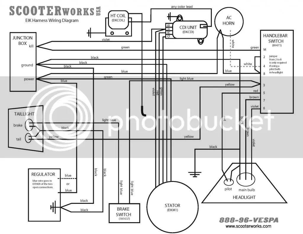 vespa gs150 vs4 vs5 wiring diagram