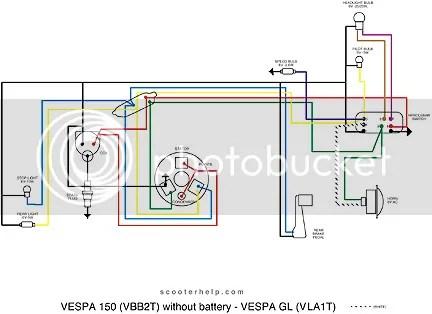 Vespa Wiring Diagram - Data Wiring Diagrams