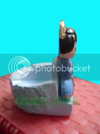 Gypsum Asbak Pengantin Jawa
