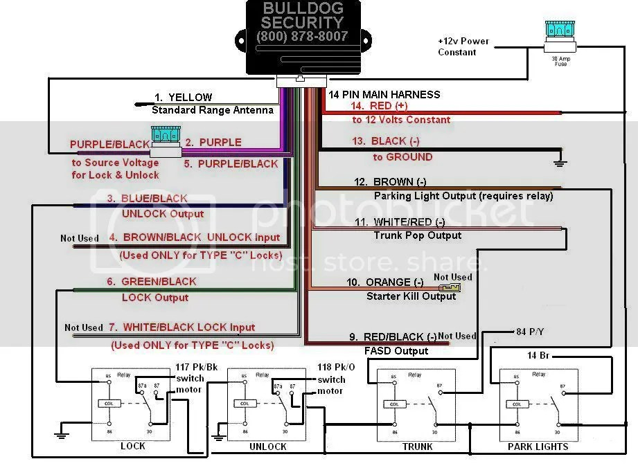 Bulldog Wiring Diagrams Wiring Diagram
