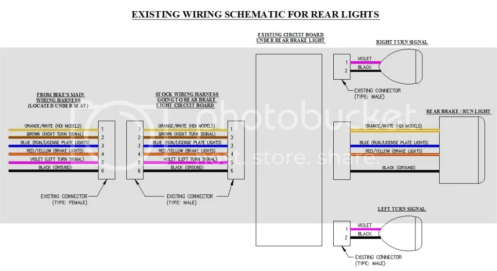 Rear Tail Light Wiring Diagram Wiring Diagram