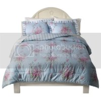 Simply Shabby Chic Cabbage Rose Twin Comforter Set | eBay