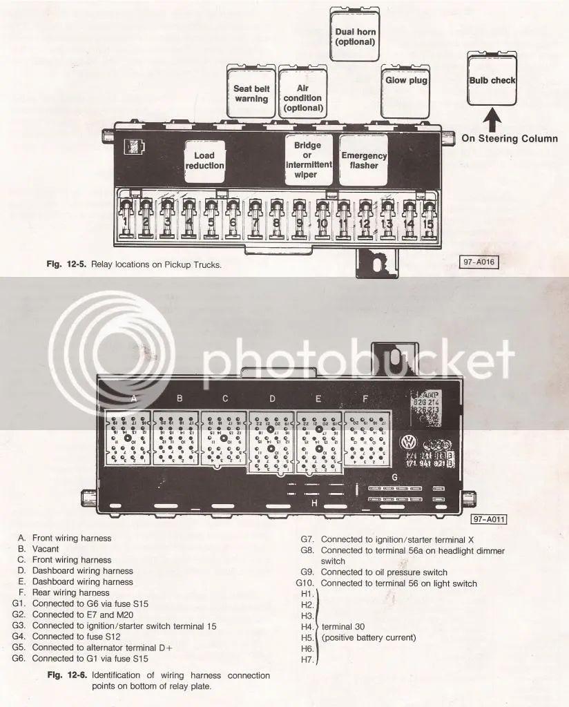 Mk1 Fuse Box Diagram Auto Electrical Wiring Pins