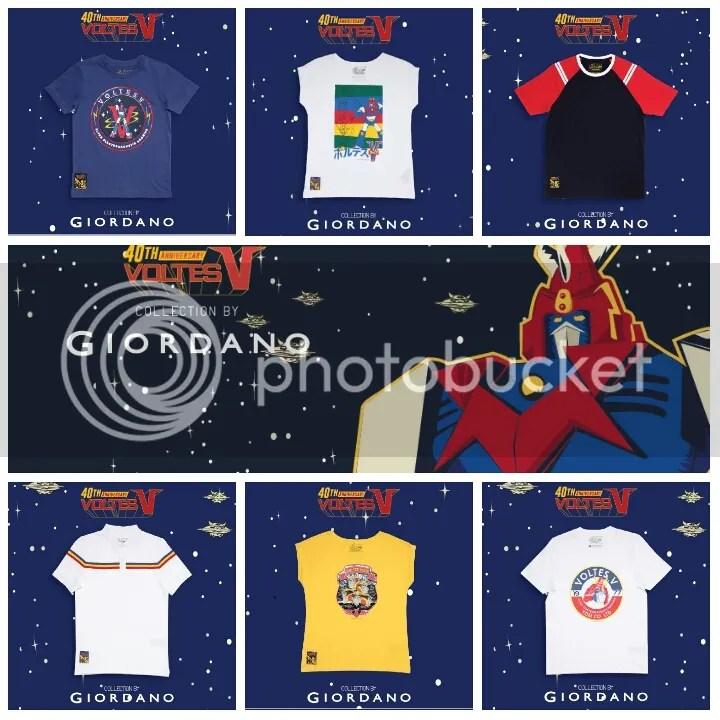 Giordano x Voltes V Collection Series 2