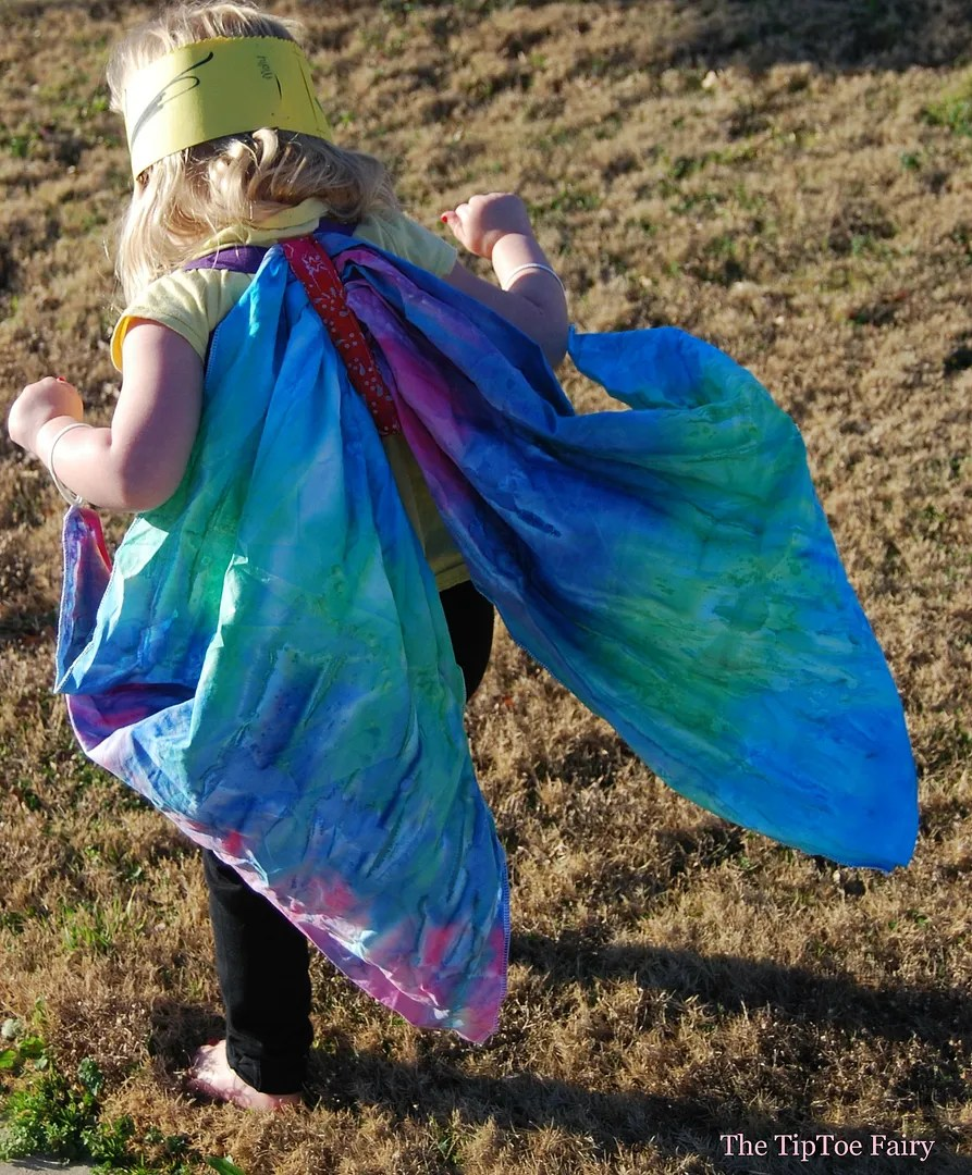 Butterfly Wings Tutorial | The TipToe Fairy