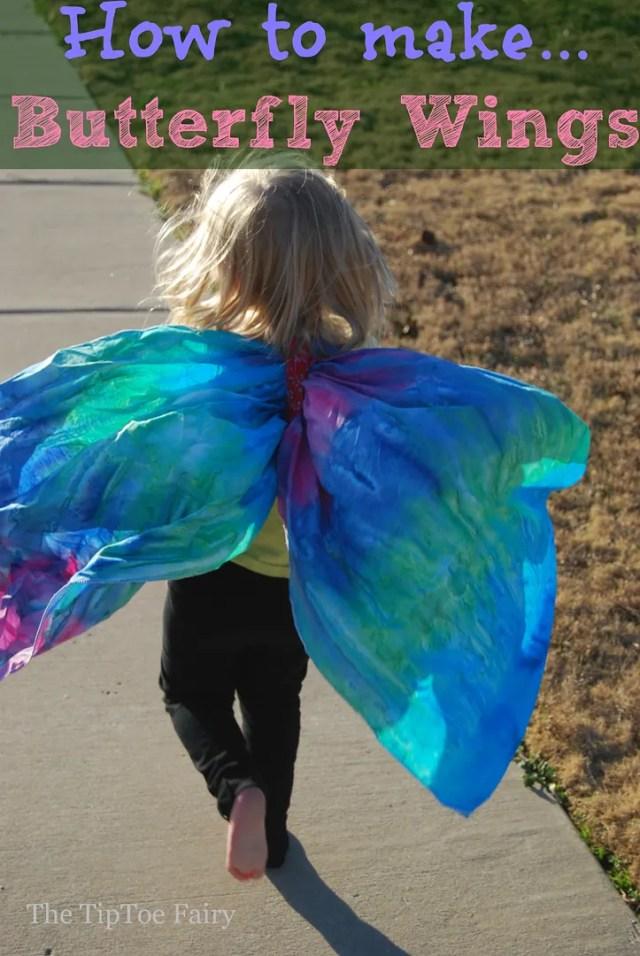 Butterfly Wings Tutorial | The TipToe Fairy