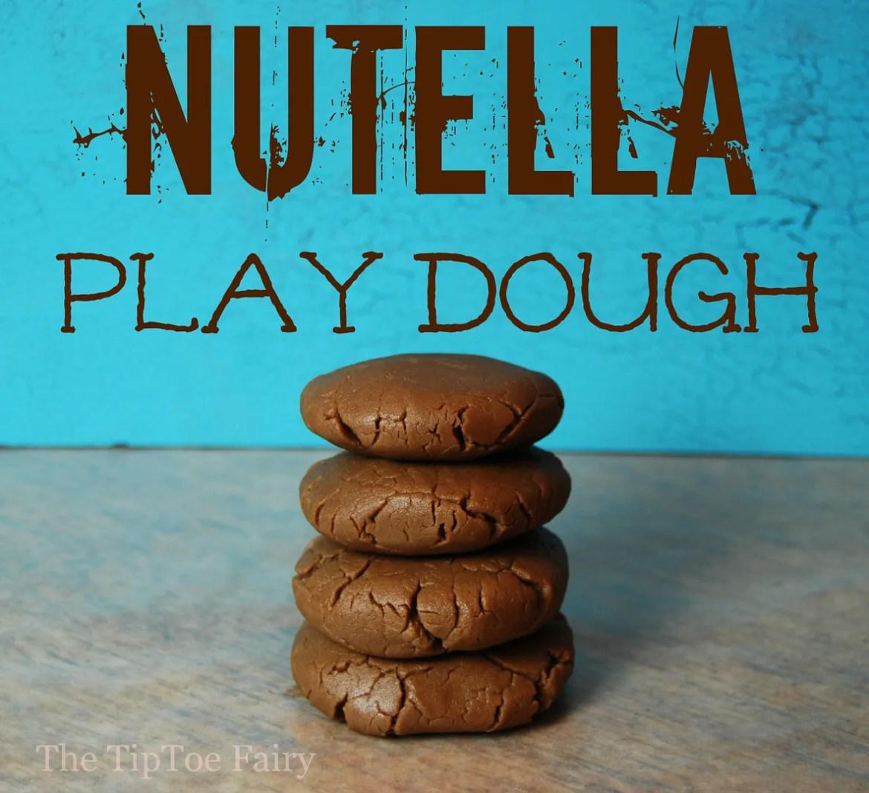 Nutella Play Dough | The TipToe Fairy