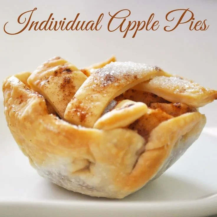 Individual Apple Pies   The Love Nerds