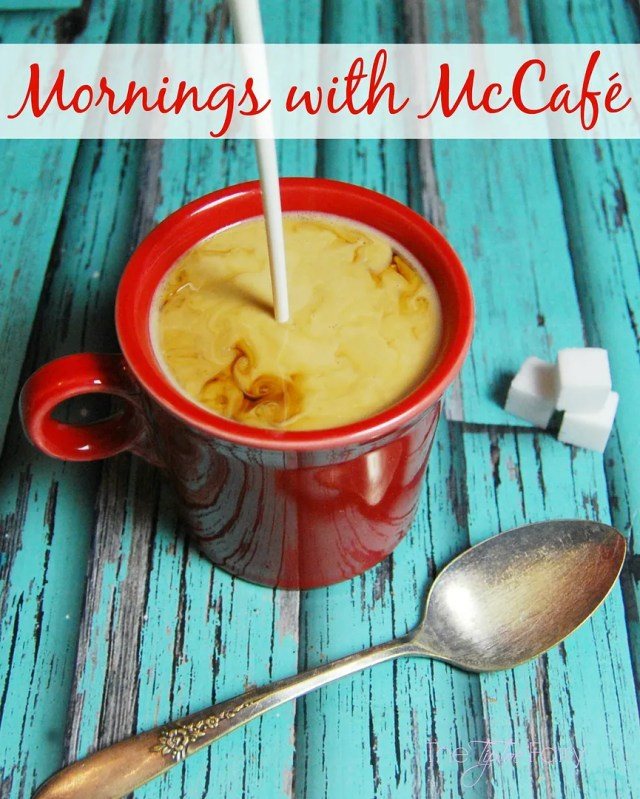 Mornings with McCafe - a new coffee available at Walmart in pods and bags| The TipToe Fairy #McCafeMyWay #ad
