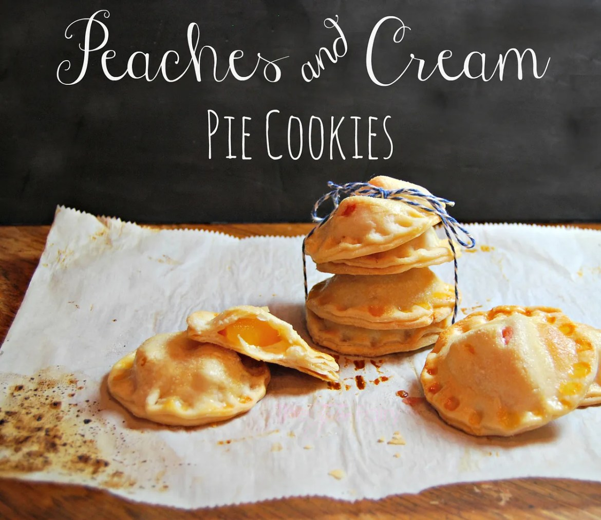 Peaches and Cream Pie Cookies with a Printable for Teacher Appreciation | The TipToe Fairy