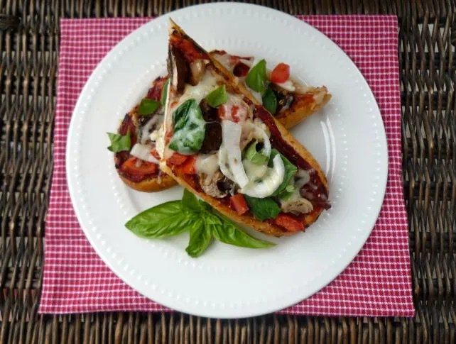 French Bread Pizza | McCallum's Shamrock Patch