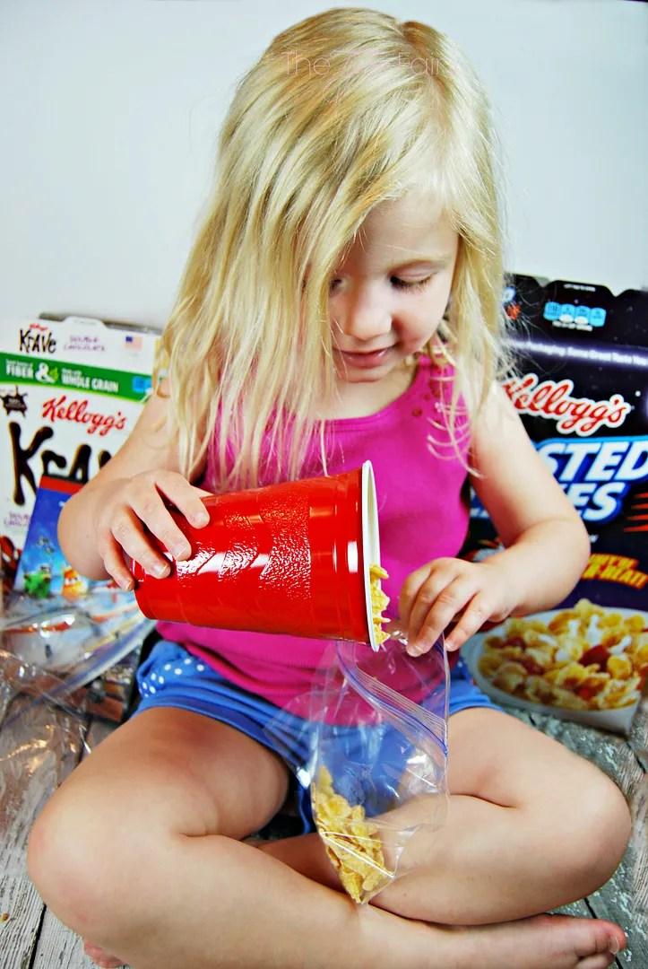 Movie Night Snacks with Kellogg's Cereal | The TipToe Fairy #GoodNightSnack #shop #cbias #freeprintable
