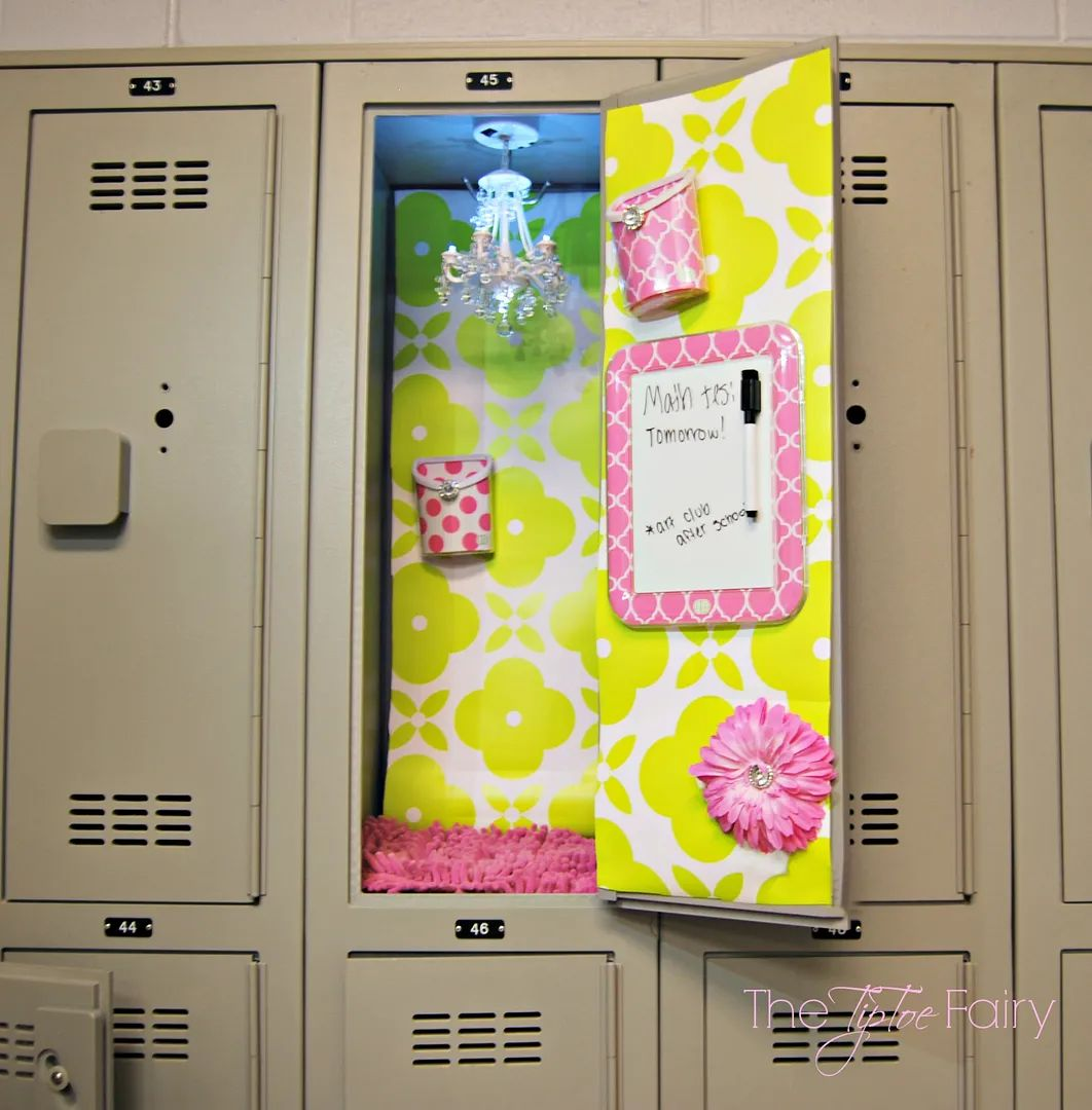 Trick out your locker the easy way amp giveaway the