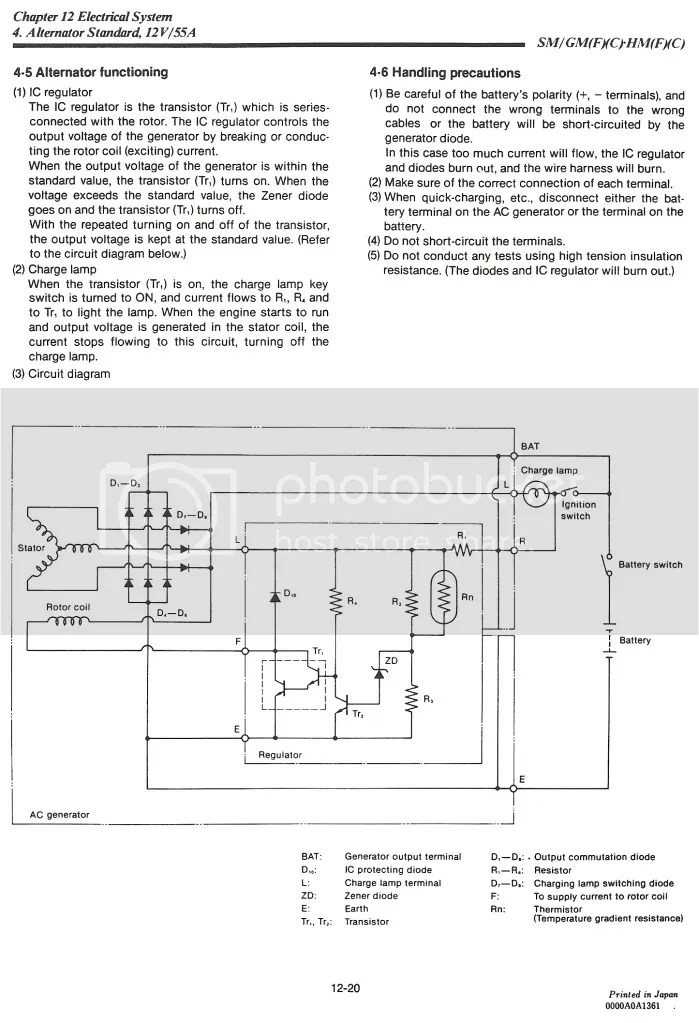 Hitachi Alternator Wiring Plug Wiring Diagram 2019