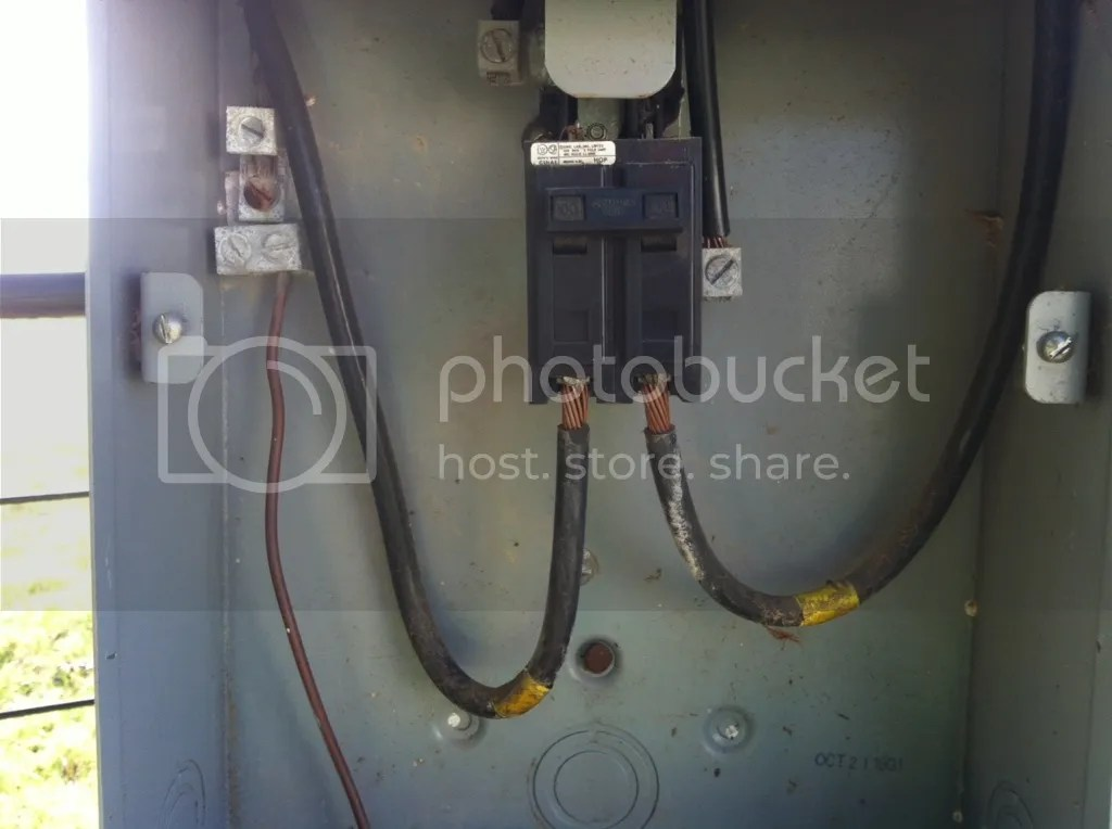 Changing Main Breaker Running New Wire 100amp To 200amp