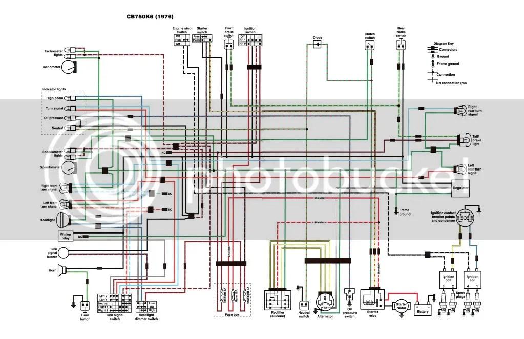 Honda Nighthawk Wiring Diagram Wiring Schematic Diagram