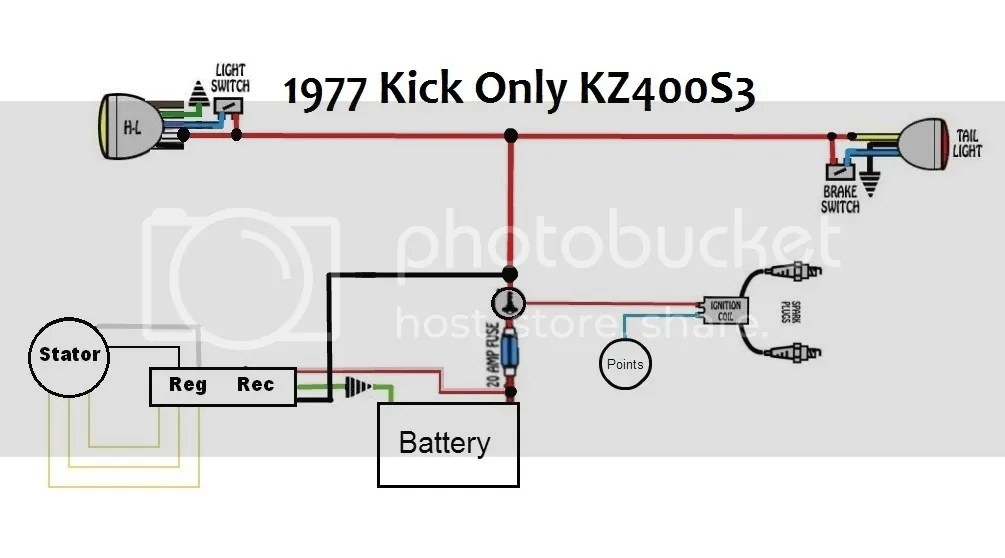 Kz400 Wiring Diagram - Wiring Diagram Progresif