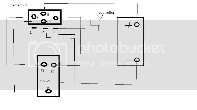 come up winch wiring diagram