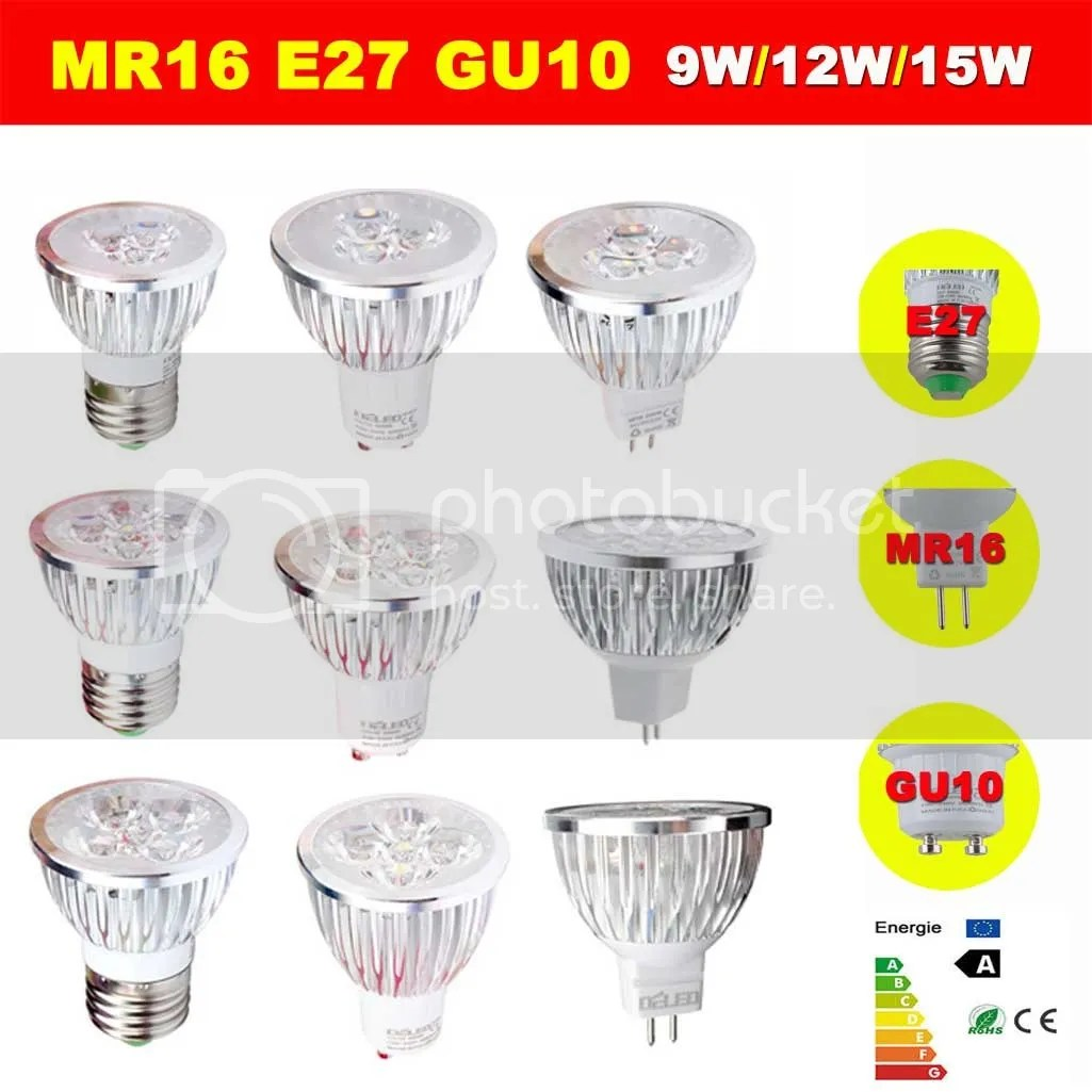 Ultra Bright Mr16 Gu10 E27 E14 Dimmable 6w 9w 12w Led Cob Spot Light Bulbs Cree Dimmable 9w 12w 15w Gu10 Mr16 E27 Cree Led Bulbs Spotlight