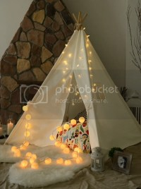 Kids Giant 100% Cotton Canvas TEEPEE WIGWAM Childrens ...