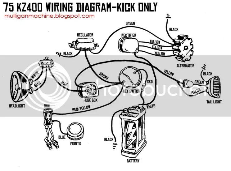 74 kz400 wiring diagram